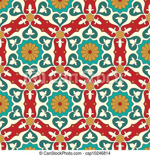 Arabic seamless pattern - csp10246814