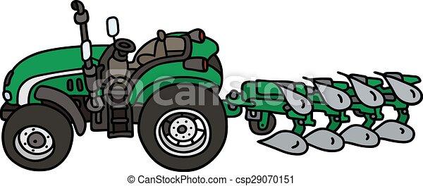 arado, trator - csp29070151