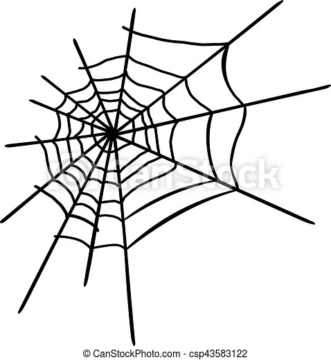 Araignée Halloween Toile