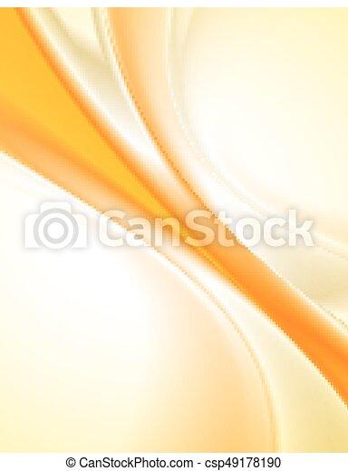 arancia, astratto, fondo - csp49178190