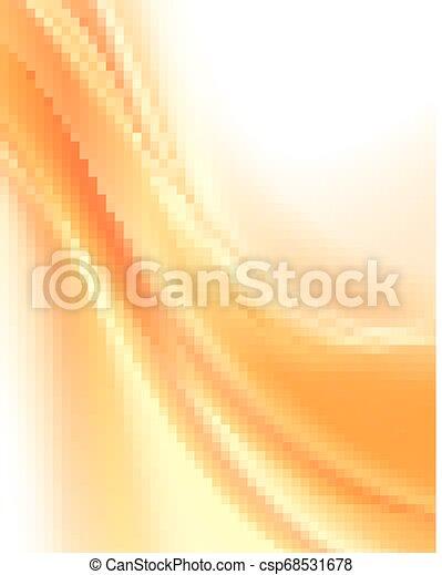 arancia, astratto, fondo - csp68531678