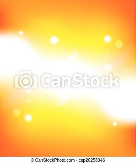arancia, astratto, fondo - csp20258346