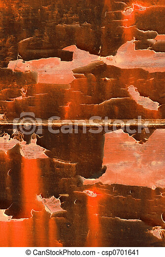 arancia, astratto, splendore - csp0701641