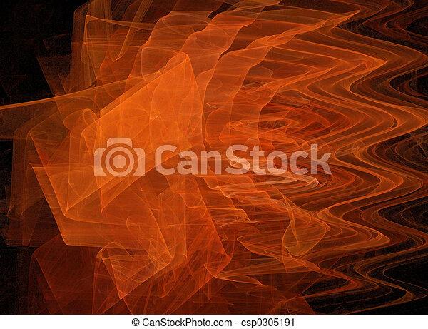 arancia, fractal - csp0305191