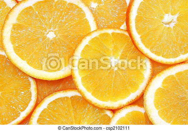 arancia, frutta, fondo - csp2102111