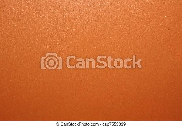 arancia, parete, vernice - csp7553039
