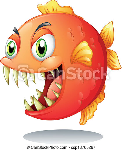 arancia, piranha - csp13785267