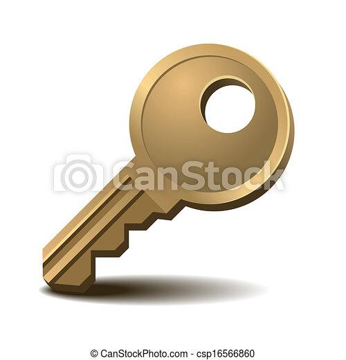 arany-, kulcs - csp16566860