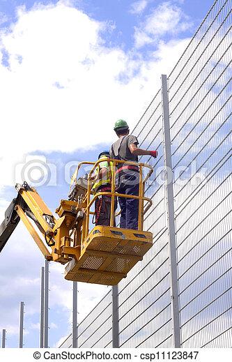 arbeiter, baugewerbe - csp11123847