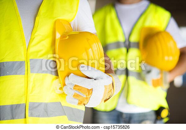 arbeiter, baugewerbe - csp15735826