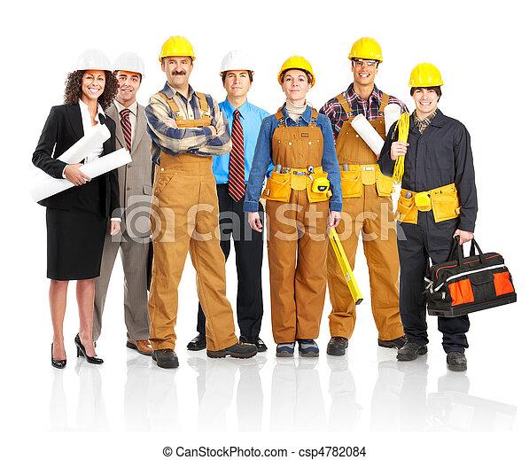 arbeiter, leute - csp4782084