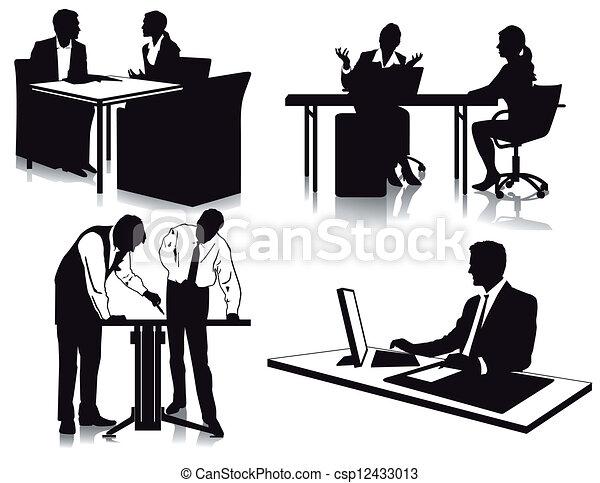 arbeits büro - csp12433013
