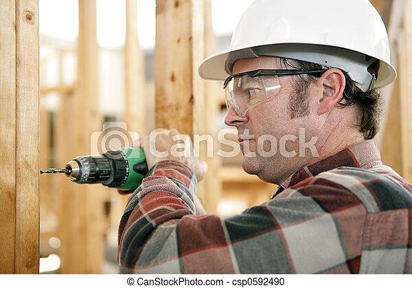 Sicherheit bei der Arbeit - csp0592490