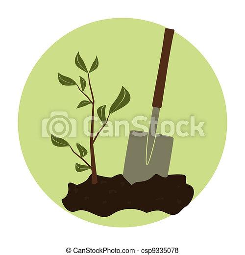 Arbor Day Icon - csp9335078