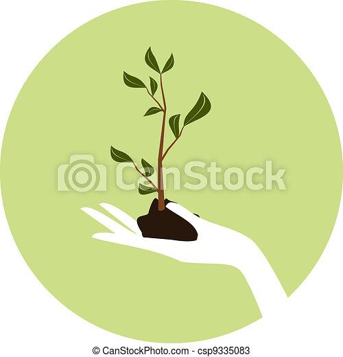 Arbor Day Icon - csp9335083