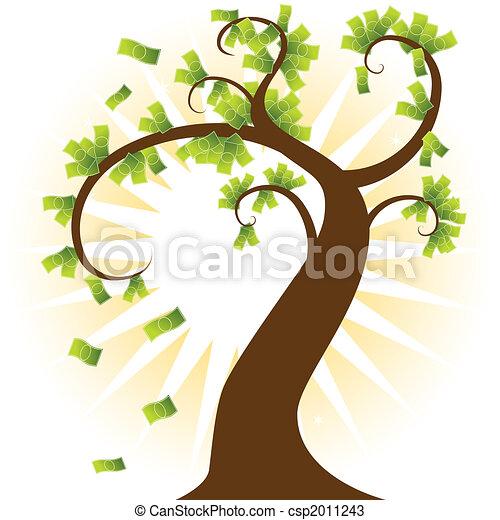 arbre argent - csp2011243