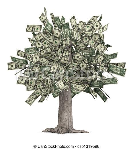 arbre argent - csp1319596