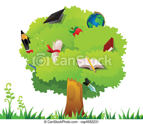 arbre, education - csp4582231