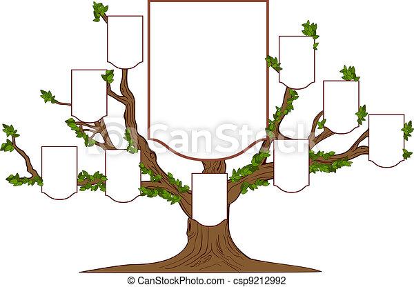 arbre, famille - csp9212992