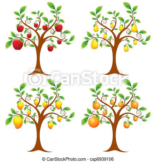 arbre fruitier - csp6939106