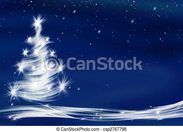 arbre, noël - csp2767798