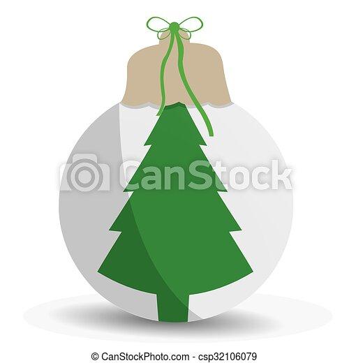 arbre, noël - csp32106079