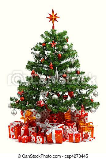 arbre, noël - csp4273445