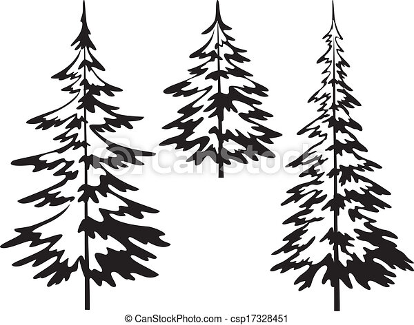 Arbre sapin no l contours sapin symbolical arbres pictogramme isol arri re plan - Sapin clipart ...