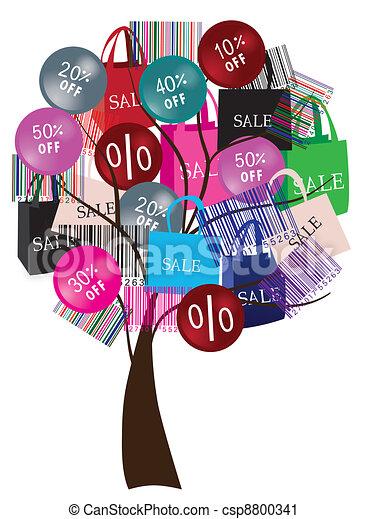 arbre, vente - csp8800341