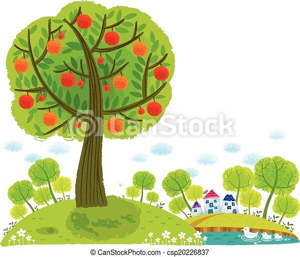 arbre, vue - csp20226837