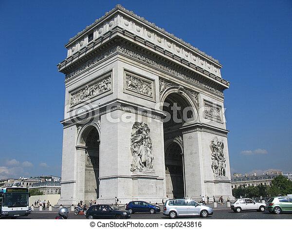 Arc de Triomphe - csp0243816