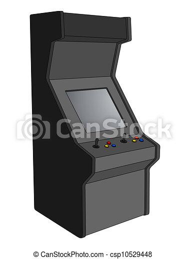 EPS Vector of Arcade machine - Creative design of arcade machine ...