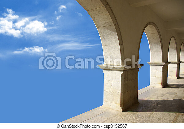 Arcades In The Sky - csp3152567