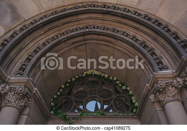Arch at the Church in Lviv - csp41089275