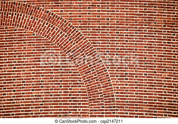 arch brick wall - csp2147211
