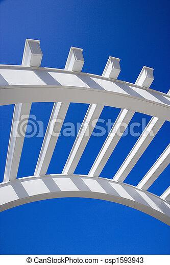 Arch of arbor. - csp1593943