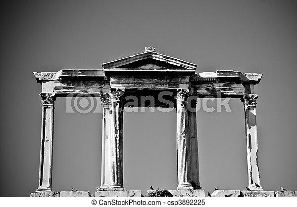 Arch of Hadrian - csp3892225