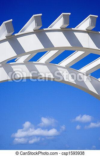 Arch of trellis. - csp1593938