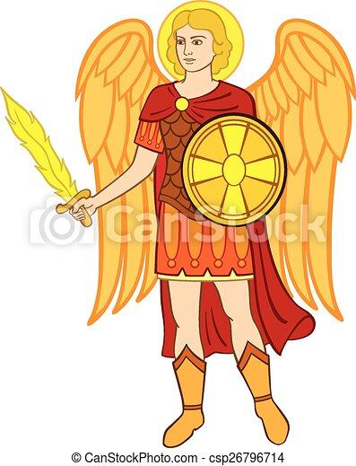 Archangel michael - csp26796714