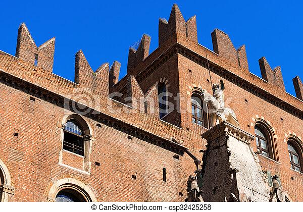 Arche Scaligere of Mastino II - Verona Italy - csp32425258