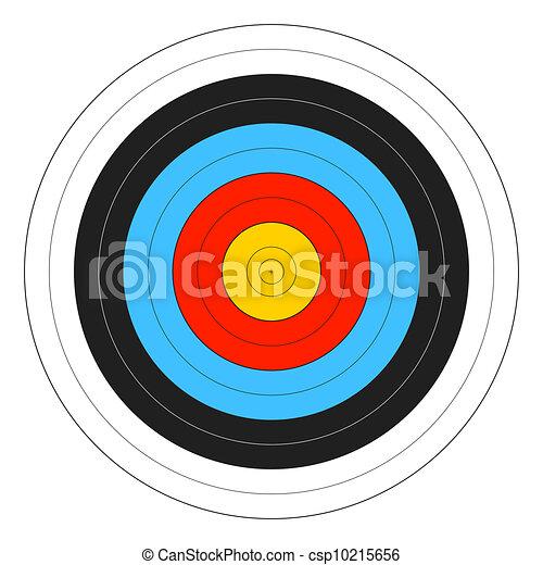 Archery Target - csp10215656