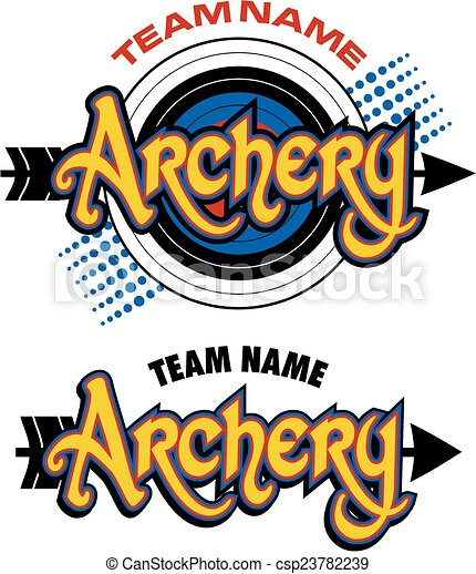 archery team design - csp23782239