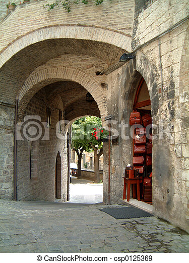 Arches Assisi - csp0125369