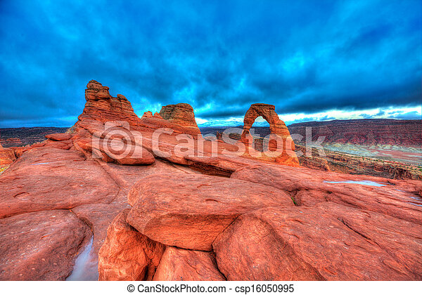 Arches National Park in Moab Utah USA - csp16050995