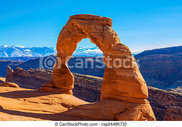 Arches National Park - csp24486732