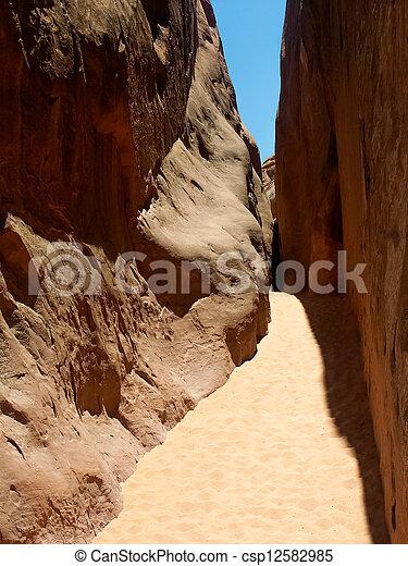 Arches Passageway - csp12582985