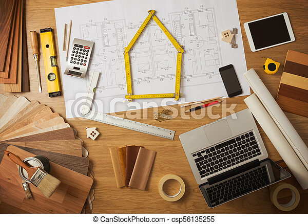 Architect And Interior Designer Work Table Architect And Home