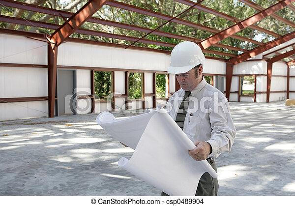 architect, jobsite - csp0489904