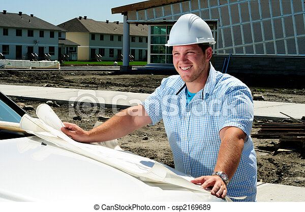 Architect On Site - csp2169689