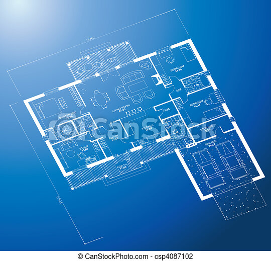 Architectural blueprint background vector architectural vector architectural blueprint background vector malvernweather Gallery